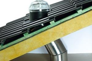 Lichtröhren lassen sich in flache und in geneigte Dächer sowie in Fassaden integrieren. Ihr Einbau ist technisch und bauphysikalisch unbedenklich
