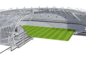 1. Preis: Stadion in Krakau unter Anwendung parametrischer Designsoftware