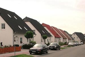 Neubau einer Einfamilienhaussiedlung