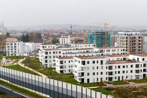 Im Osten von Regensburg befindet sich das neues Stadtquartier Candis mit knapp 1.000 Wohn- und Gewerbeeinheiten