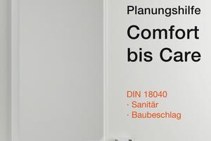 Mit der Planungshilfe im praktischen Taschenformat wird die barrierefreie Badplanung nach DIN 18040 ganz einfach. Erhältlich ist sie unter hewi.de/broschueren