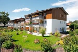 Neue Balkone und große Mieter-gärten bieten viel Wohnqualität, die gern angenommen wird<br />
