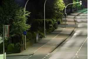 Straße in Vechta nach der Umstellung<br />&nbsp;