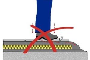 Fehler: Schallbrücke infolge einer Mörtelbrücke<br />