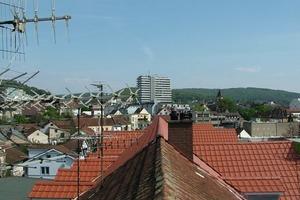 Blick über die Dächer in Lörrach<br />