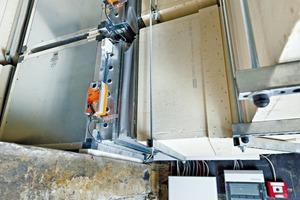 Weil bei elektronisch geregelten Differenzdruckanlagen auf Regelklappen im oberen Bereich des Treppenhauses verzichtet werden kann, eignen sich diese Systeme auch für die Nachrüstung