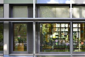 Fassadendetail Grundschule Niederheide