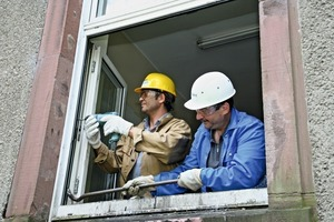 Ausbau alter Kunststofffenster<br />