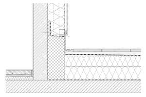 Detail Dachterrasse<br />