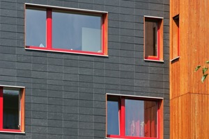 Passivhaus mit Schieferfassade