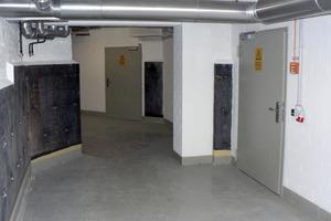 Sanierter Kellerbereich mit sichtbarer Vertikalabdichutng