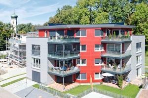 Das viergeschossige Mehrfamilienhaus verfügt über eine Grundfläche von 270 m² und beherbergt acht Wohnungen