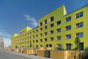 Aus dem tristen Plattenbau in Halle-Neustadt ist ein familienfreundliches Mehrfamilienhaus geworden