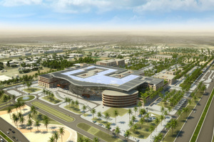 Visualisierung des AL Ain Hospitals, Abu Dhabi, Vollintegrierte 3D-Planung
