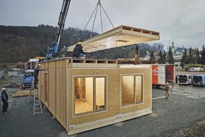 """Das Egger-""""Konzepthaus""""-Modul"""