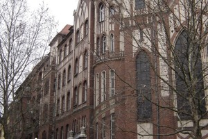 Südansicht des Gebäudes in Berlin-Kreuzberg<br />