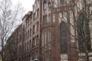 Südansicht des Gebäudes <br />in Berlin-Kreuzberg<br />