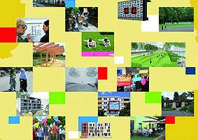 Flyer zur Wanderausstellung, die erste Projektergebnisse präsentiert