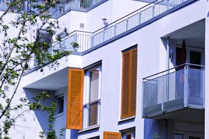 Fassaden mitgroße Fensterflächen