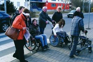 """Modellprojekt """"Barrierefreie Stadtquartiere"""" in Arnstadt (Foto3)<br />"""