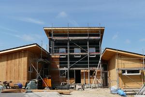 Baufortschritt – die Siedlung entsteht