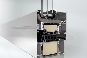 Das Aluminium-Fenster AWS 90.SI<sup>+</sup> Green (Super Insulation) ist ein hoch wärmegedämmtes Fenster auf Passivhausniveau mit nachwachsenden Rohstoffen
