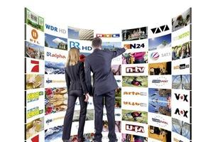Fernsehen über Glasfaser kennt keine Kapazitätsgrenzen; entsprechend umfassend ist das HD-Angebot
