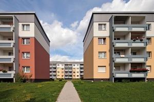 Durch den Abbruch und Rückbau diverser Gebäude eröffnen sich neue Blickachsen. Der Wohnpark wirkt dadurch weniger massiv und gewinnt an Großzügigkeit<br />