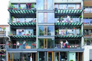 Neubau in der Baugemeinschaft in Tübingen, Französisches Viertel