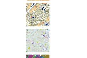 Abb.2: Ebenen eines Energienutzungsplans (Kartenausschnitte)