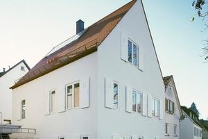 Der Hauptpreis ging an das Wohnhaus Berner in Stuttgart-Rotenberg von Prof. Christine Remensperger, Stuttgart<br />