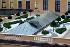 Dachgarten auf dem Gebäude der Deutschen Bundesbank in München