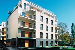 Fassadenansicht Süd-West, Diestelmeyerstraße Berlin<br />