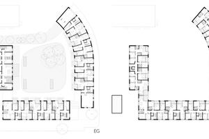 31 der 73 Ein- bis Vierzimmerwohnungen sind barrierefrei, zwei davon rollstuhlgerecht